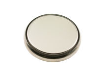 Button cell Stock Photo