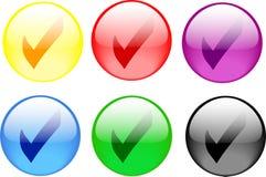 button check Стоковая Фотография