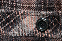 Button on a coat Stock Image