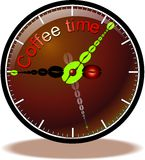 Button coffee Stock Image