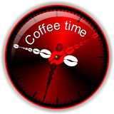 Button coffee Royalty Free Stock Photo