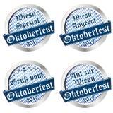 Button collection Oktoberfest 2017 Stock Photos