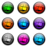 Button Color ELEARNING Royalty Free Stock Photo