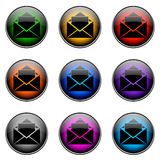 Button Color EMAIL Royalty Free Stock Photography