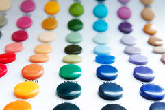 Button colors Stock Photos