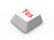 Button for consent Royalty Free Stock Images
