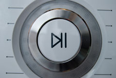 Button on a control panel Royalty Free Stock Photography