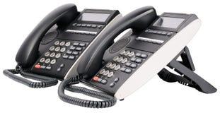 button den digitala mång- setstelefonen Royaltyfria Foton