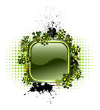 button den populära vektorn för element Arkivfoto