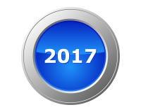 2017 button Stock Photos