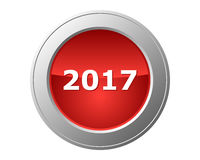 2017 button Stock Photography