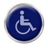 Button for Disabled Stock Photos