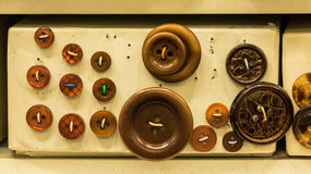 Button display Stock Photography