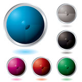 Button divide Stock Photo