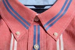 Button down collar Stock Photos