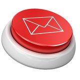 Button e-mail Royalty Free Stock Photo