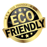 Button Eco friendly Stock Images