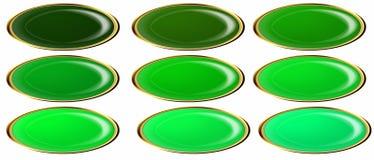 button ellipsrengöringsduken Royaltyfri Fotografi