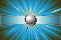 Button with emit 1-3 Royalty Free Stock Photo