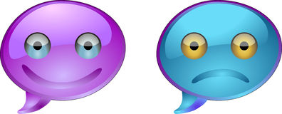 Button eyes Royalty Free Stock Image