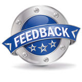 Button with feedback Royalty Free Stock Image