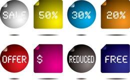 Button flap Stock Images