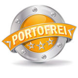 Button free postage Royalty Free Stock Images