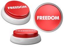 Button freedom Royalty Free Stock Photos