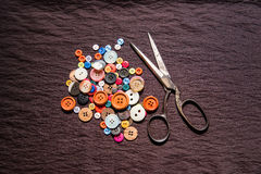 Button for garment Royalty Free Stock Images