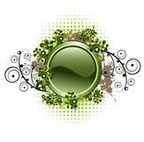 button glansig grunge för sammansättning Royaltyfria Foton