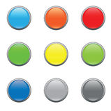 Button glass Royalty Free Stock Images