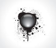 button grunge hög - techvektorn stock illustrationer