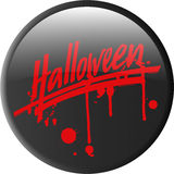 Button_halloween Royalty Free Stock Images