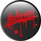 Button_halloween Images libres de droits
