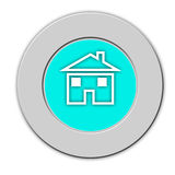 Button home Royalty Free Stock Image