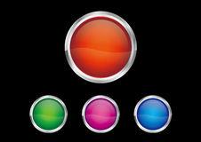 Button icon Stock Photography