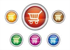 button icon Royalty Free Stock Photo