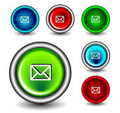 Button icon Royalty Free Stock Photo