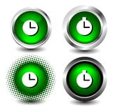 Button icon Stock Photo