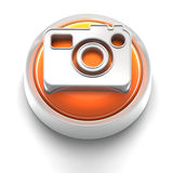 Button Icon: Photo Stock Photography