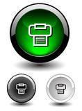 Button icon Stock Images