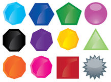 Button icons Stock Image