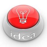 Button Idea Royalty Free Stock Photography