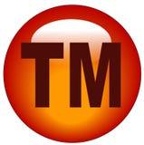 button ikony znak towarowy Fotografia Royalty Free