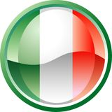 button Italia Obraz Stock