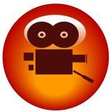 button kamery filmie sieci Fotografia Royalty Free