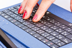 Button  keyboard. Stock Photography