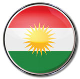 Button of Kurdistan. In Asia Stock Images