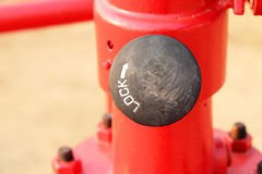 Button lock Royalty Free Stock Photos