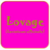 Button Lovage Royalty Free Stock Photography